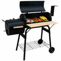 American kerti faszenes barbecue mobil grill