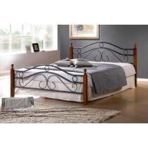 Asier 140x200 cm fém ágykeret ágyráccsal