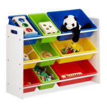 BALU gyerek polc játék tároló szekrény L