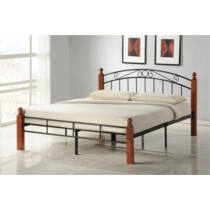 Bruno 180x200 cm fém ágykeret ágyráccsal