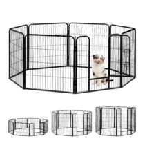 Doggy 8 szögletű kutya, macska kisállat kennel L
