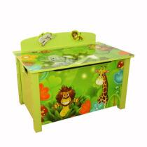 Dzsungel játék tároló box, láda