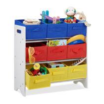 JANO gyerek polc játék tároló szekrény