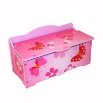 Pillangós játék tároló box, láda