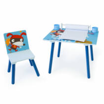 Puppy 2 részes gyerek asztal és szék szett, rajzasztal