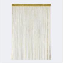 Spagetti függöny gold