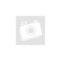 Játékbaba csíkos ruhában - 19 cm