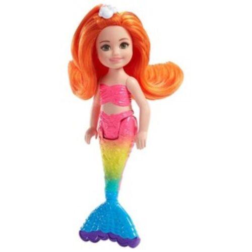Barbie sellő mini baba - 13 cm