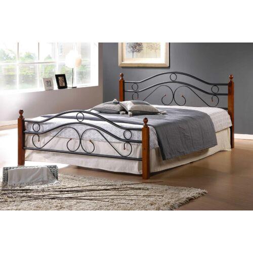 Asier 160x200 cm fém ágykeret ágyráccsal