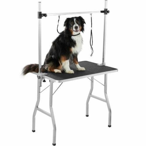 Axel állitható trimmelő asztal, kutyakozmetikai asztal