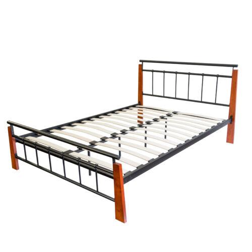 Dario 140x200 cm fém ágykeret ágyráccsal