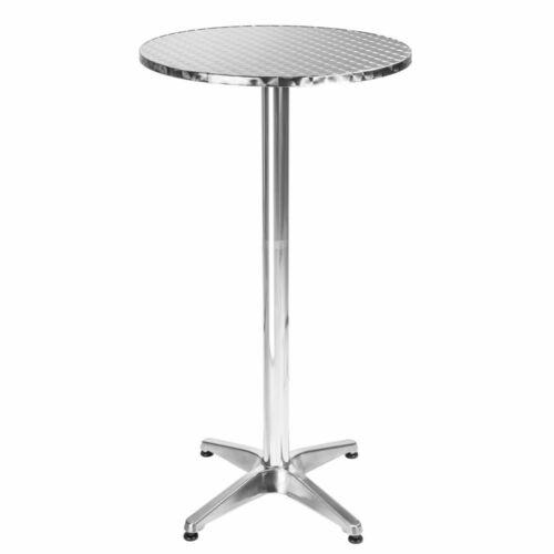 Even aluminium bárasztal III