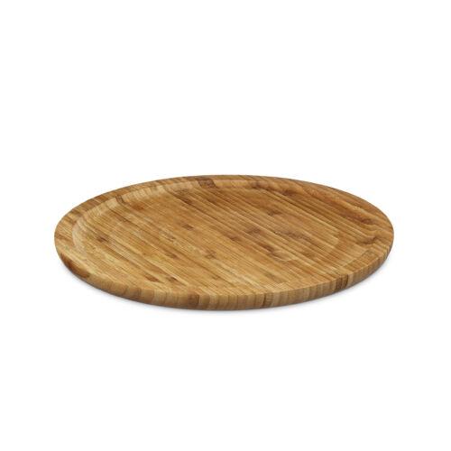Felszolgáló tálca bambuszból (kerek)