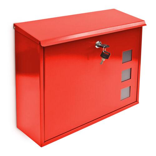 Freez fém kerti postaláda piros