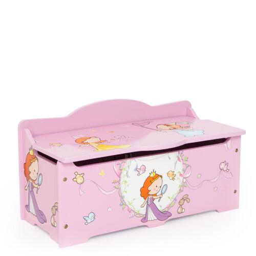 Hercegnős játék tároló box, gyerek pad