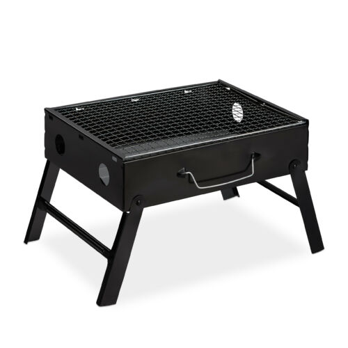 Hordozható kompakt camping grill
