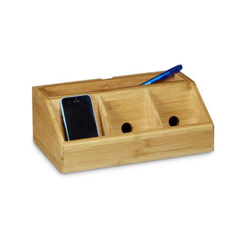 Íróasztal rendszerező és telefon tartó box