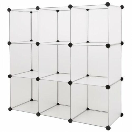 Joyce 9 polcos mobil gardrób szekrény fehér