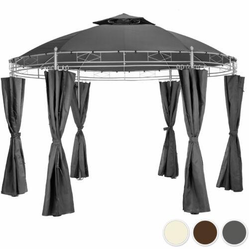 Luxus kör pavilon oldalfalakkal 350cm átmérő