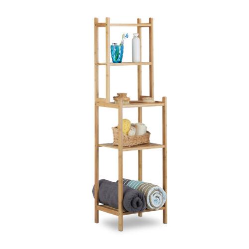 Mesa fürdőszobai polc bambuszból