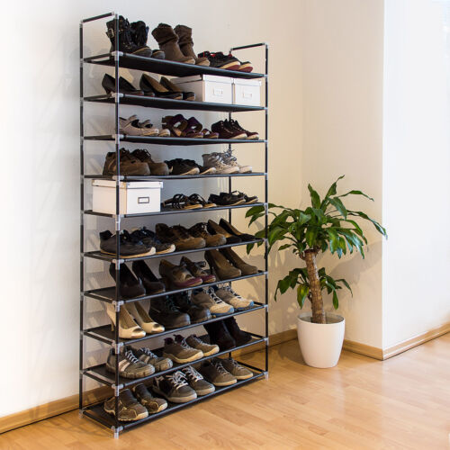 Monty 10 polcos cipősszekrény