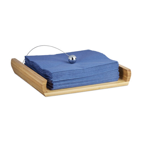 Szalvéta tartó bambuszból